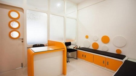 Interiors of Pediatric clinic